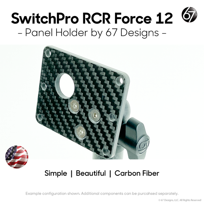 SwitchPro-RCR Force™ 12 Switch Panel Holder