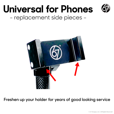 Universal for Phones - Replacement Side Arm Surfaces