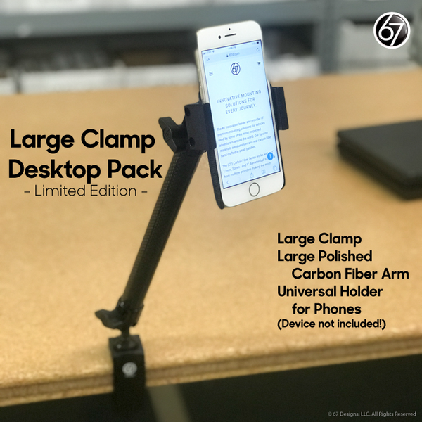 Large Clamp Desktop Pack
