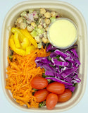 Rainbow Salad with Chickpeas