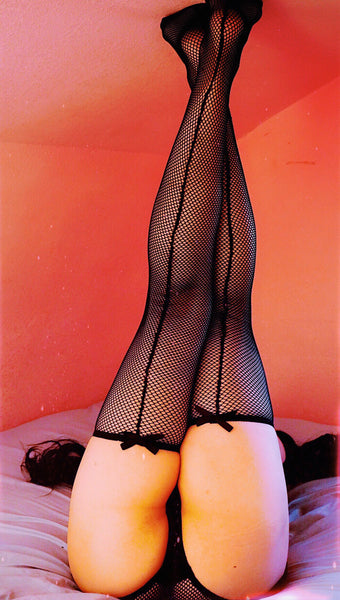 Alexandrea Anissa Fishnet Thigh High Stockings