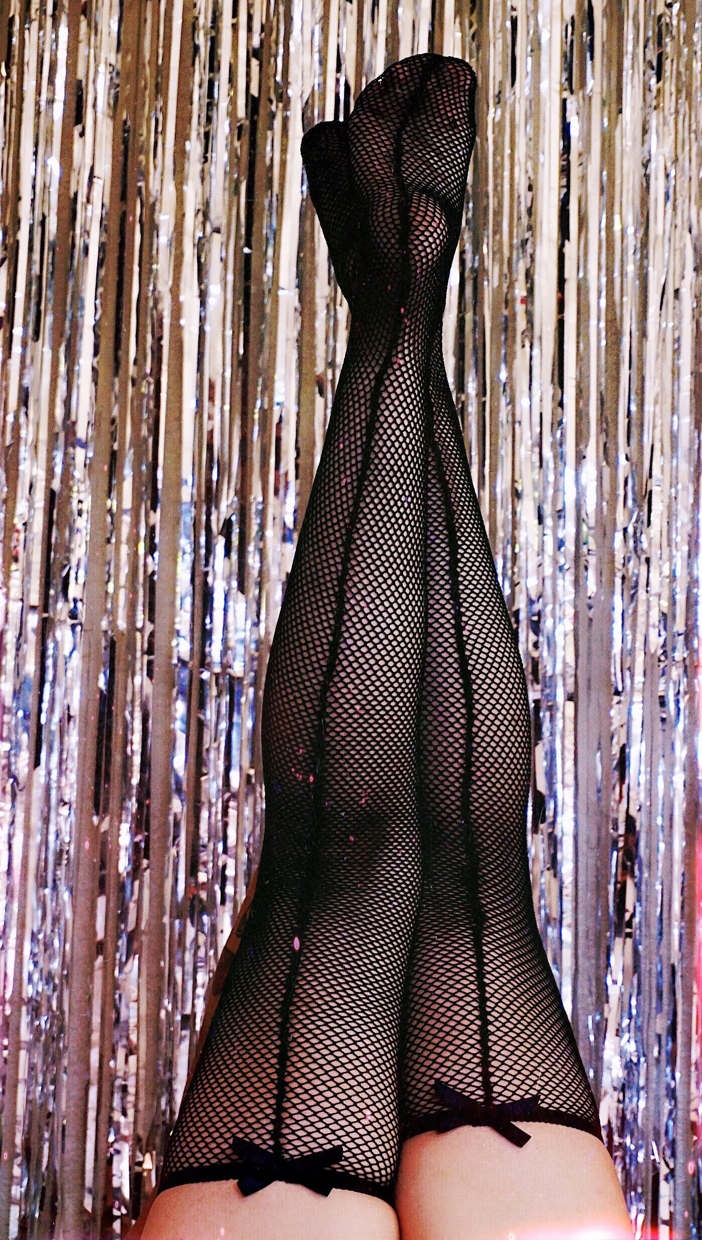 Alexandrea Anissa Dolly Thigh High Stockings - Fishnet
