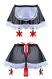 Alexandrea Anissa French Maid Garter Skirt