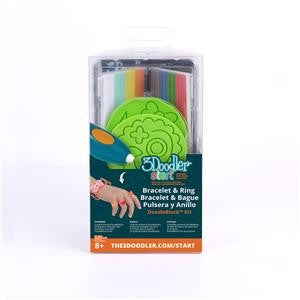 3Doodler DoodleBlocks - Jewelry Kit, 2 pc (including 48 strands)
