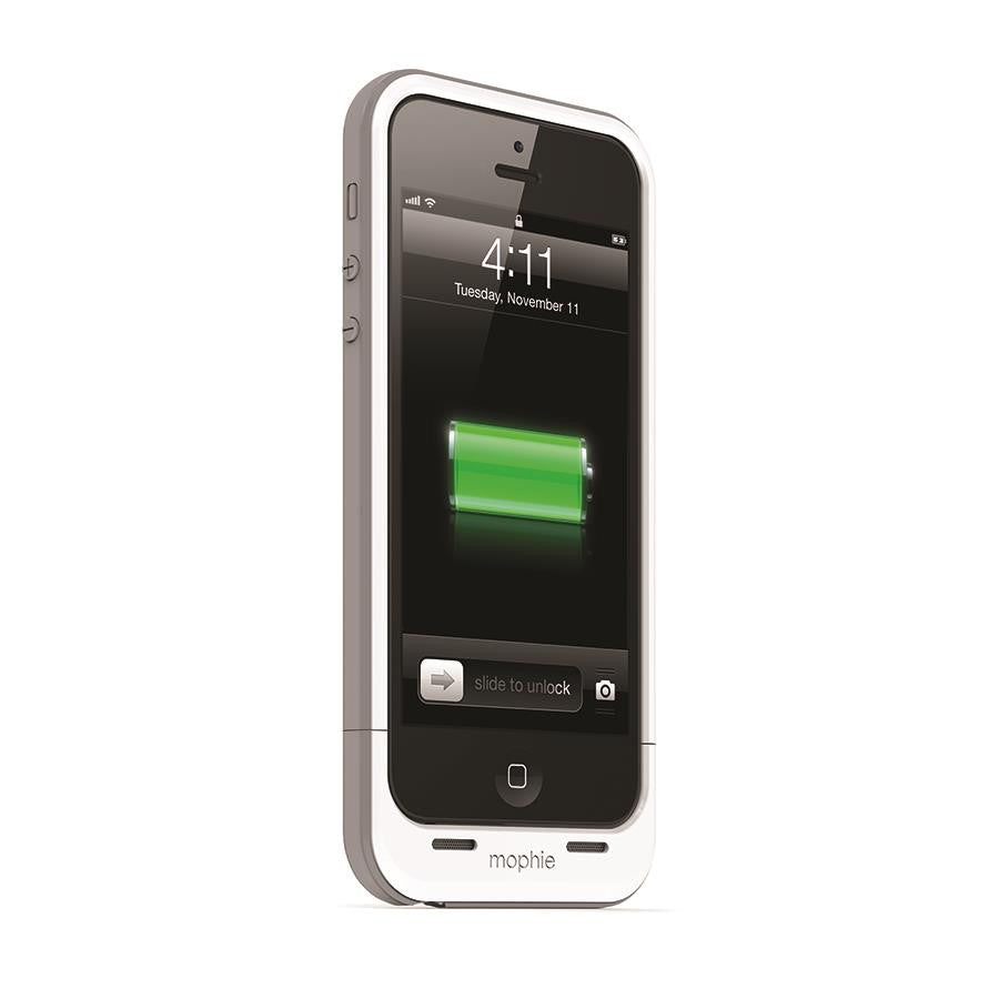 Mophie Juice Pack Plus for iPhone 5/5s White - Makerwiz