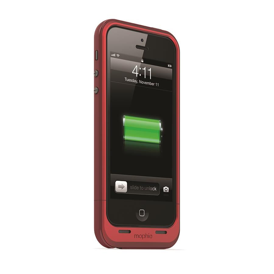 Mophie Juice Pack Plus for iPhone 5/5s Red - Makerwiz