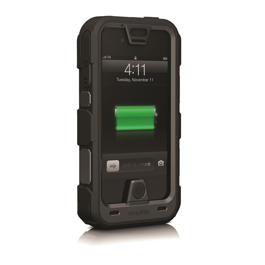 buy online 7c5f1 1bba7 Mophie Juice Pack Pro for iPhone 4/4s Black – Makerwiz
