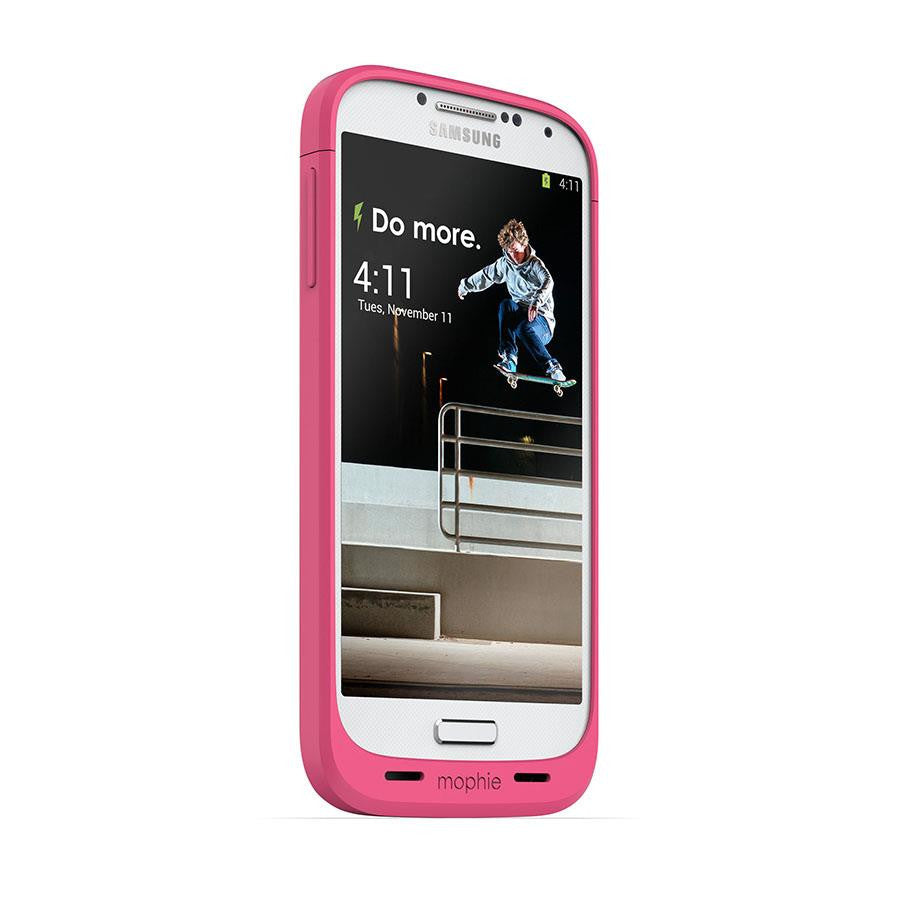 Mophie Juice Pack for Samsung Galaxy S4 Pink - Makerwiz