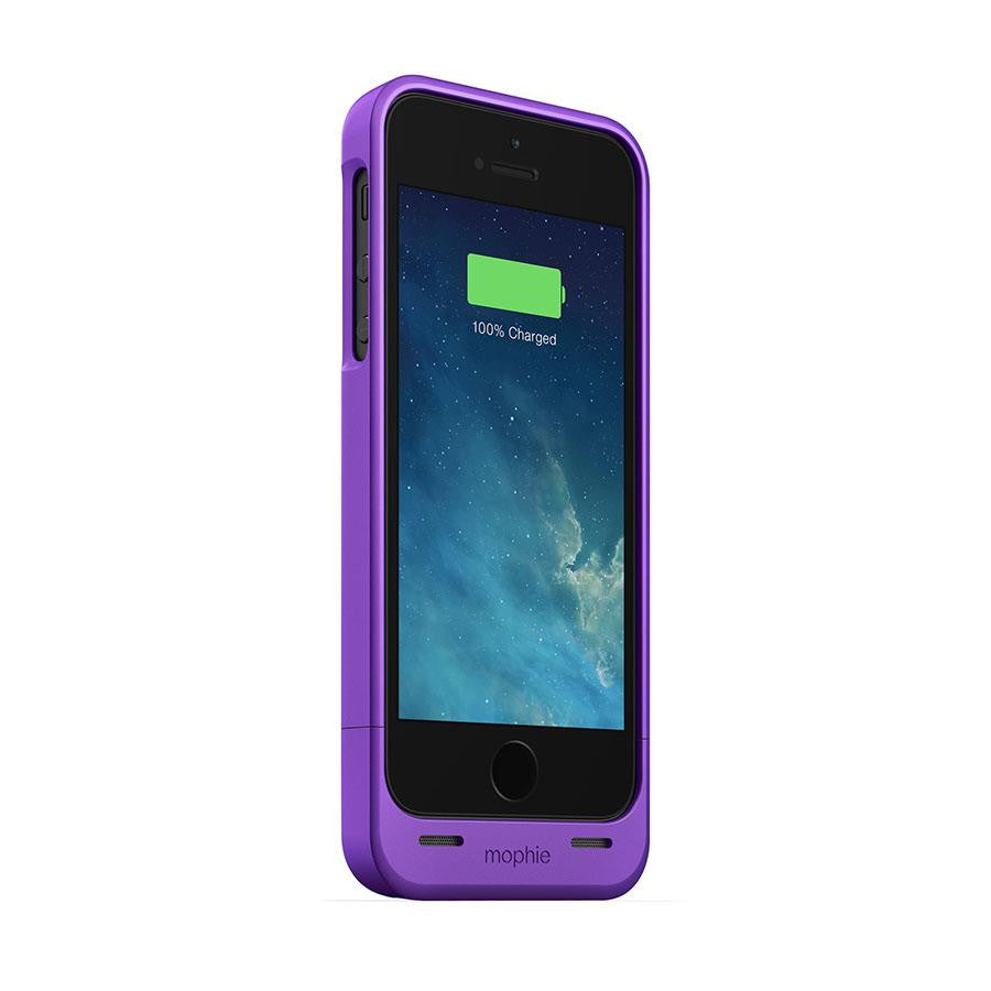 Mophie Juice Pack Helium for iPhone 5/5s Purple - Makerwiz