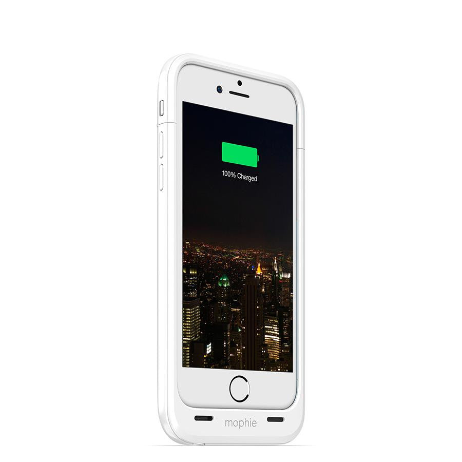 Mophie Juice Pack Plus for iPhone 6 White - Makerwiz
