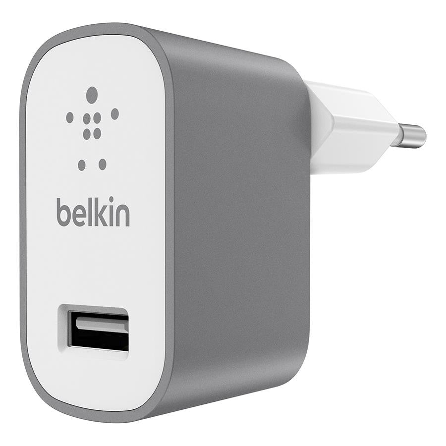 Belkin MIXIT Metallic USB Home Charger Gray - Makerwiz
