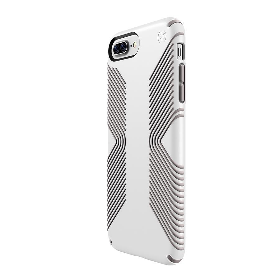 Speck APPLE iPhone 7 Plus PRESIDIO GRIP WHITE/ ASH GREY - Makerwiz