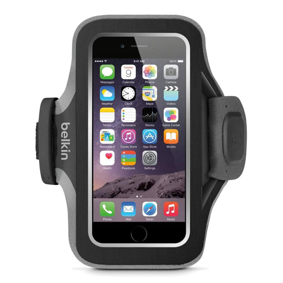 Belkin Slim-Fit Plus Armband for iPhone 6 Black Top - Makerwiz