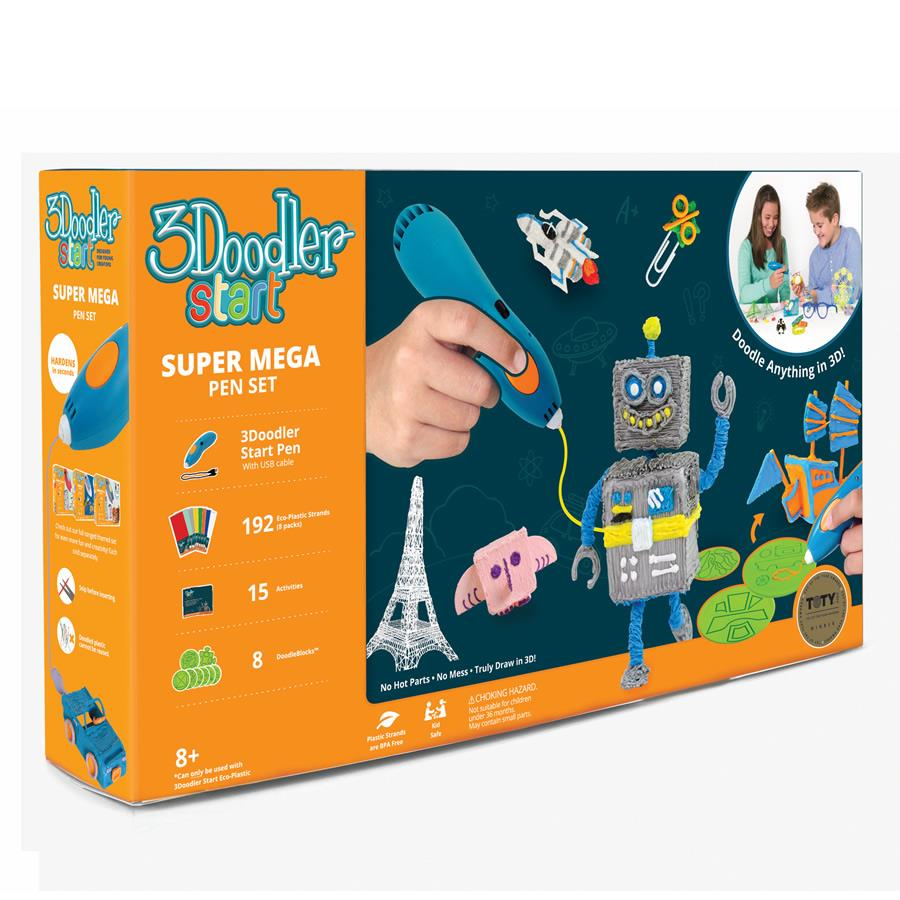 3Doodler Start Super Mega 3D Printing Pen Set - Makerwiz