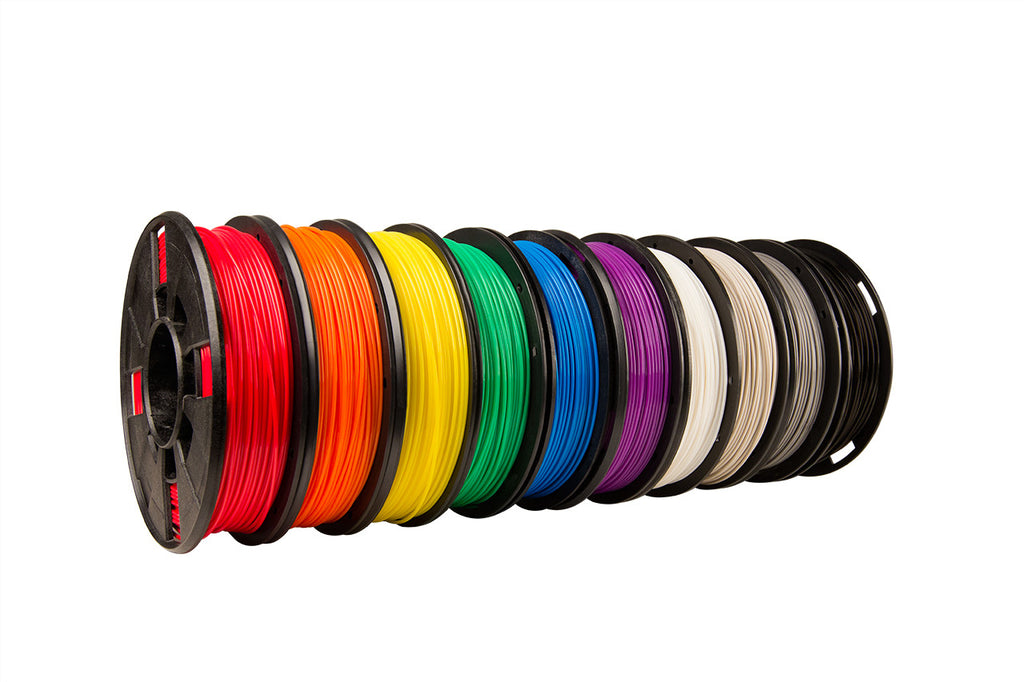 MakerBot PLA Filament 10 Pack (Small Spools) - Makerwiz