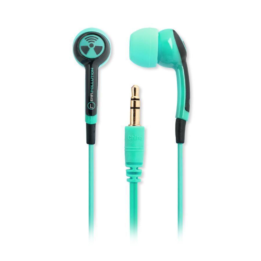 iFrogz Ear Pollution Plugz Ear Buds - Mint - Makerwiz