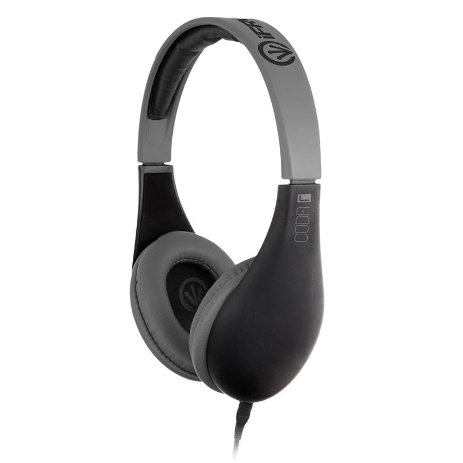 iFrogz Audio Coda Headphones with Mic Black - Makerwiz