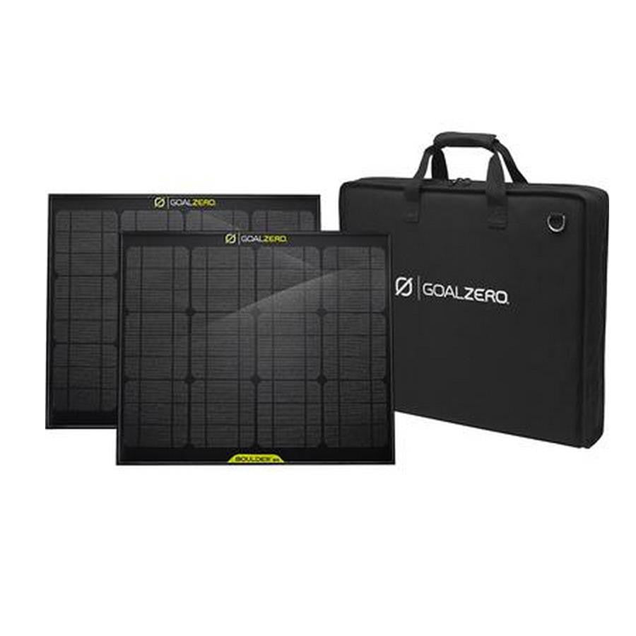 Goal Zero Boulder Solar Kit (Solar Panels + Bag) - Makerwiz