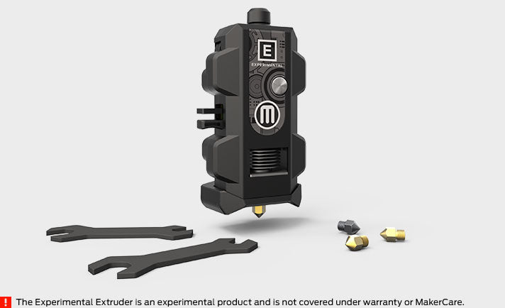 MakerBot Labs Experimental Extruder - Makerwiz