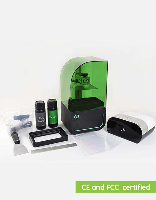 Kudo3D Bean DLP 3D Printer Deluxe Package
