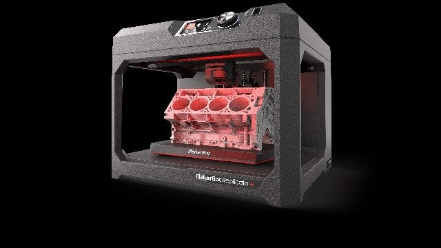 MakerBot Replicator+ Desktop 3D Printer - Makerwiz