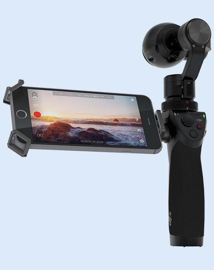 DJI Osmo Hand-Held Camera 4K 12MP Tripod-Free - Makerwiz