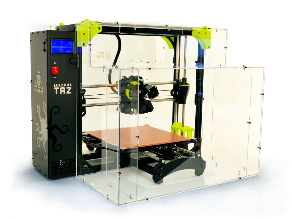 LulzBot TAZ 6 Enclosure by Printed Solid (Kit) - Makerwiz