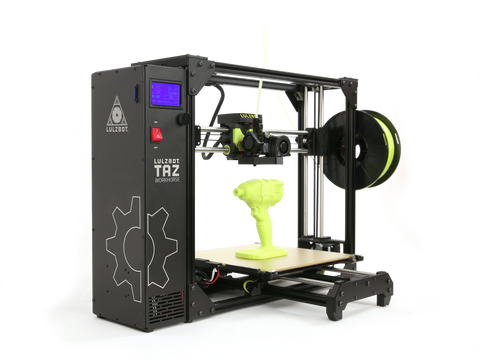 LulzBot TAZ Workhorse 3D Printer - Refreshed