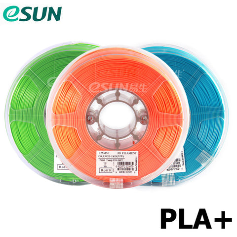 eSUN PLA+ 1.75 mm Filament, 1 kg Reel