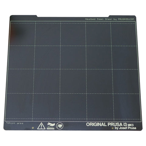 Prusa Research Original Prusa Spring Steel Sheet With Smooth Double-sided PEI