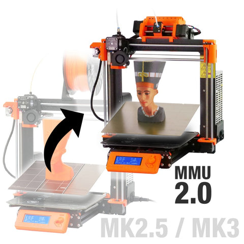 Prusa Research Original Prusa i3 MK2.5S/MK3S Multi Material 2S Upgrade Kit (MMU2S)