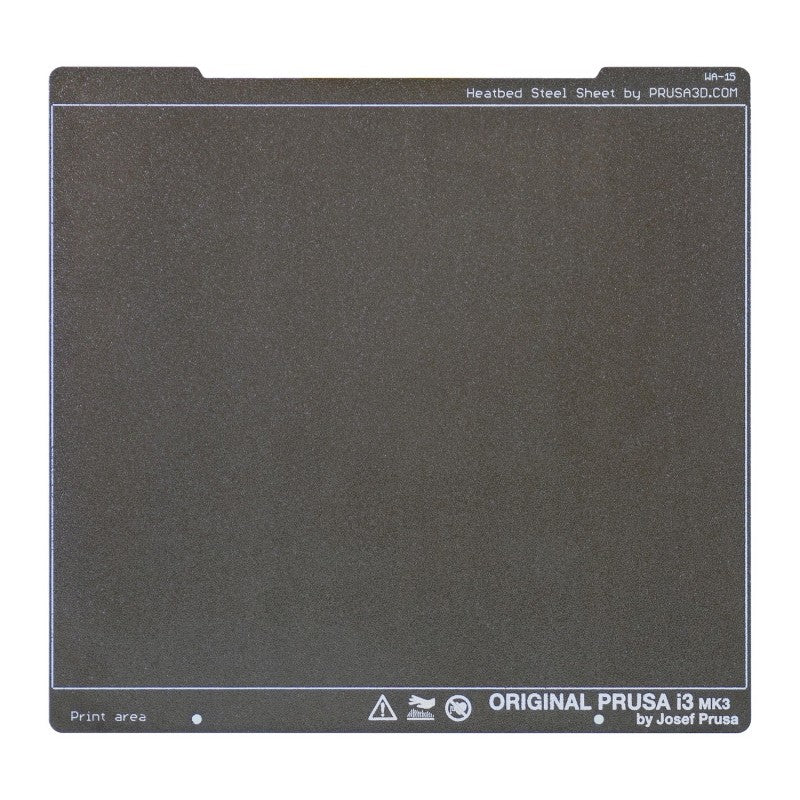 Prusa Research Original Prusa Double-sided Textured PEI Powder-coated Spring Steel Sheet - Makerwiz