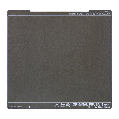 Prusa Research Original Prusa Double-sided Textured PEI Powder-coated Spring Steel Sheet