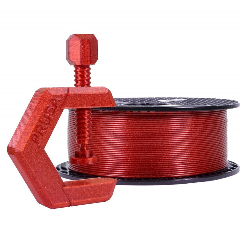 Prusa Research Prusament PETG Carmine Red Transparent 1kg - Makerwiz