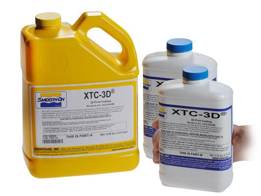 XTC-3D Print Epoxy Coating Gallon Kit - Makerwiz