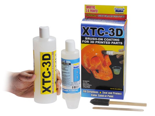 XTC-3D Print Epoxy Coating 24 oz Kit - Makerwiz