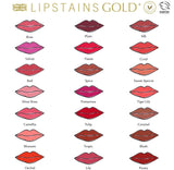 Coral Lipstains Gold