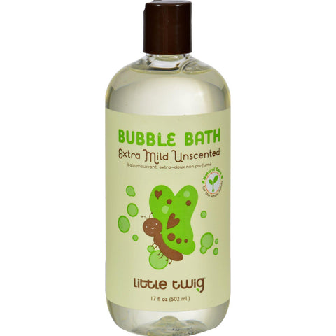 Little Twig Bubble Bath Extra Mild Unscented - 17 Fl Oz