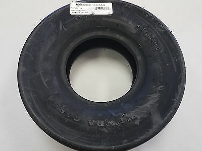 Tire fit 4.10x3.50-5 Smooth 4 Ply Bunton PL0959A Carlisle 5100231 Kenda 21151048