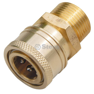 "Stens 758-582 fits Fitting 22mm Male x 3/8"" Coupler"