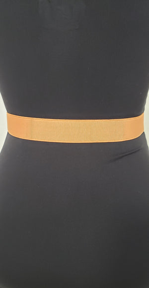 Women Skinny  Belt with Elastic Waist Band