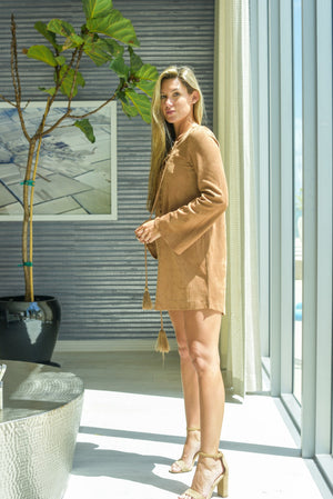 River Run Suede Dress