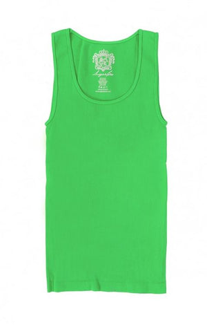 Basic Ribbed Seamless Tank Top