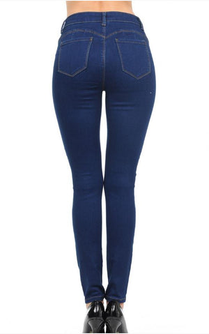 Push-Up High-Rise Super Comfy Skinny