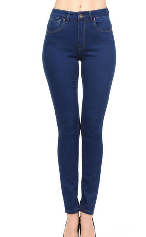 High-Rise Denim Skinny
