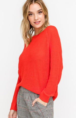 Relaxed Pullover Sweater