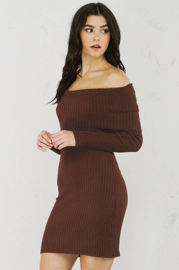 Take-Off-Shoulder Dress