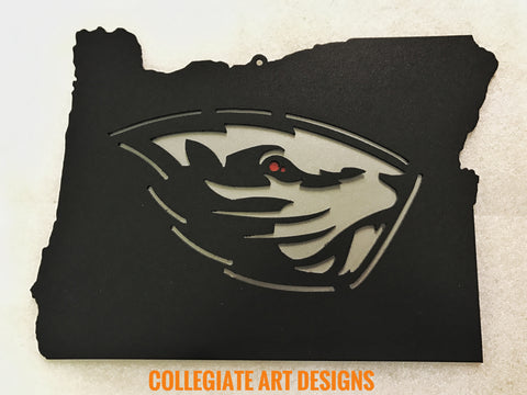 Custom Oregon State University Beavers