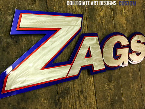 Gonzaga LED Sign Artistic Grind
