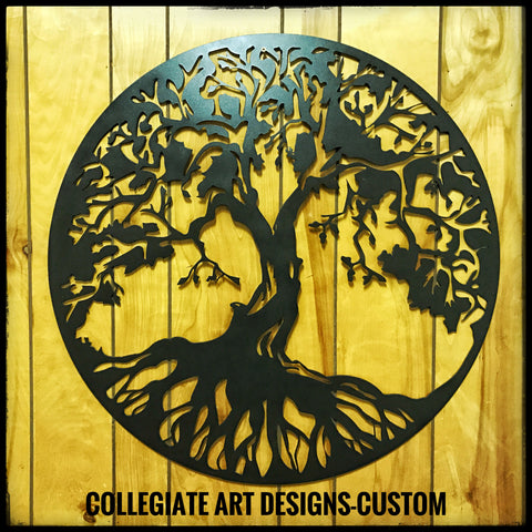 ustom Tree of Life - Tattoo made Metal Art